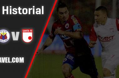Historial Deportivo Pasto vs. Independiente Santa Fe: superioridad 'cardenal'