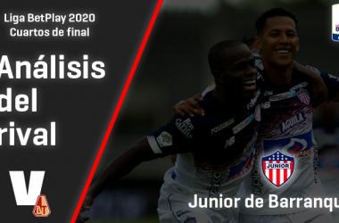 Deportes Tolima, análisis del rival: Junior (Cuartos de final, Liga 2020)
