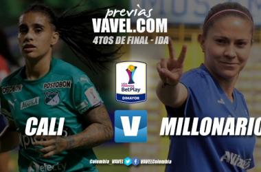 Previa Deportivo Cali vs. Millonarios: a ganar por un cupo en la semifinal