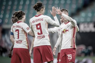RB Leipzig vence Werder Bremen e assume liderança provisória da Bundesliga