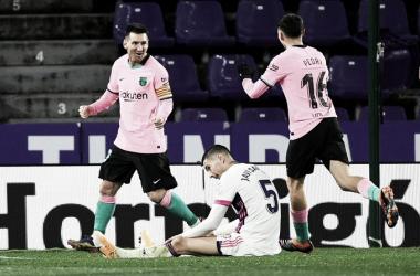 Messi supera Pelé, e Barcelona vence Valladolid em LaLiga