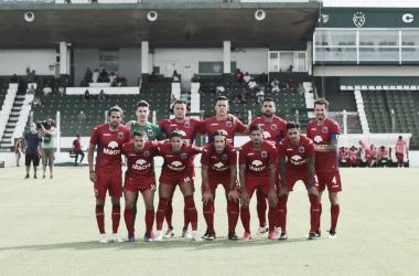 Foto grupal del equipo titular del Club Atletico Tigre.