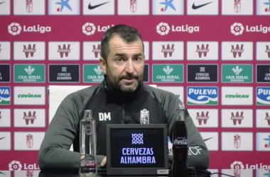 """Diego Martínez: """"Posiblemente haya jugadores que no entrenen y tengan que jugar contra el Barcelona"""""""