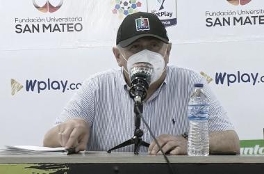 """Eduardo Lara: """"No estoy conforme con lo que hizo mi equipo"""""""
