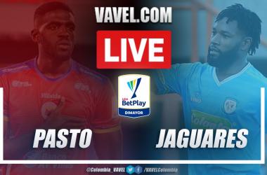 Resumen Deportivo Pasto vs Jaguares (2-2) en la fecha 8 de la Liga BetPlay 2021-I