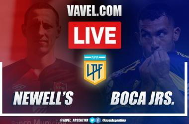 Resumen Newell's vs Boca Juniors (0-1) en la fecha 2 de la Copa de la Liga Profesional 2021