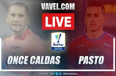 Resumen Once Caldas vs Deportivo Pasto (0-1) en la fecha 9 por la Liga BetPlay 2021-I