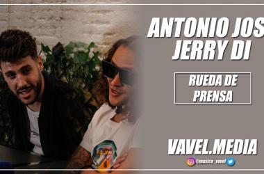 """Rueda de prensa. Antonio José y Jerry Di: """"Pirata lo inspira el salir de mi zona de confort"""""""