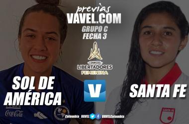 Previa Independiente Santa Fe vs Sol de América: las 'leonas' buscarán un cupo a cuartos de final