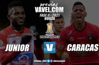 Previa Junior vs Caracas FC: Los 'tiburones' buscan liquidar la serie ante los 'Rojos del Ávila'