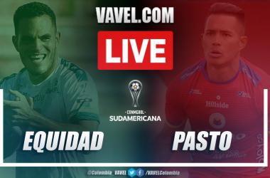Resumen La Equidad vs Deportivo Pasto (1-2) en la fecha ida de la clasificatoria por Copa Sudamericana 2021