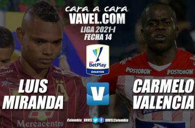 Cara a cara: Luis Miranda vs. Carmelo Valencia