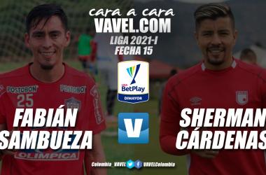 Cara a cara: Fabián Sambueza vs. Sherman Cárdenas