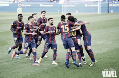 Análisis Barça B vs Alcoyano: Recital del Barça B para empezar con buen pie