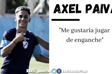 """AXEL Paiva: """"Agradecido por la confianza de Fernando Ruiz y mis compañeros"""""""