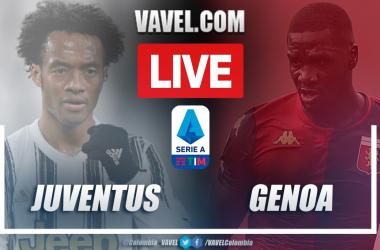 Resumen Juventus vs Genoa (3-1) en la fecha 30 de la Serie A