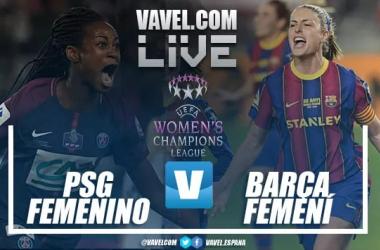 Resumen PSG vs Barça Femení en UWCL (1-1)
