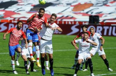 Balance desfavorable al Granada CF en su duelos ante el Sevilla
