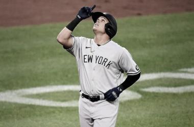 Cuarto cuadrangular para Urshela en la campaña Foto: Yankees Instagram