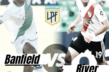 Domingo de enfrentamiento River vs Banfield, 16:30 hs.