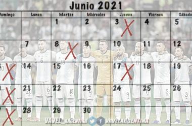 A TOMAR NOTA. El calendario de Argentina en el mes de junio, en la X tendrá partidos por Copa América y Eliminatorias. Foto: Vavel Argentina
