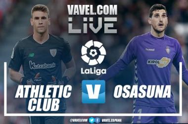 Resumen Athletic Club vs CA Osasuna (2-2) en LaLiga Santander