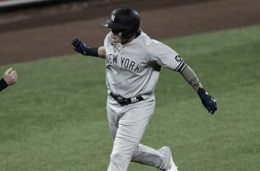 Urshela fue el héroe inesperado de la noche en Baltimore Foto: Yankees Instagram