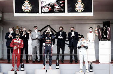 Podio del GP de Mónaco (Fuente: f1.com)