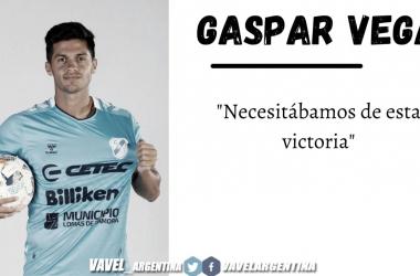 """Gaspar Vega: """"Trataremos de cuidar nuestro arco en cero y mejorar en los últimos 30 metros"""""""