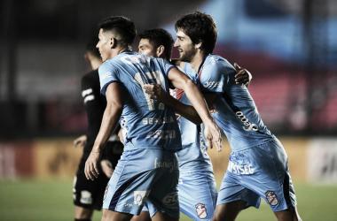 Sepúlveda y Albertengo los goleadores de la noche en Sarandí
