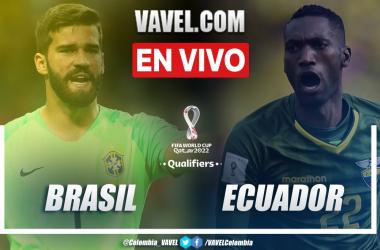 Resumen Brasil vs Ecuador (2-0) en la fecha 7 por las eliminatorias a Catar 2022