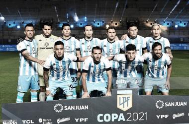 Noche para el olvido del equipo de Avellaneda. (Foto: Gettyimages)