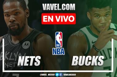 Brooklyn Nets vs Milwaukee Bucks EN VIVO: ¿cómo ver transmisión TV online en Juego 4 Playoffs de la NBA?