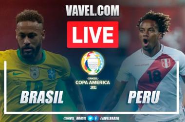 Goals and Highlights: Brazil 4-0 Peru in Copa América