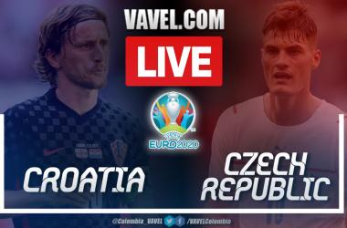 Croatia 1-1 Czech Republic: Live score and updates from Euro 2020