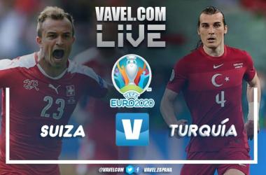 Resumen Suiza 3-1 Turquía por la Eurocopa 2021