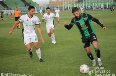 San Martín-Ferro quedaron a mano en un partido con pocas emociones.<div>Imagen: @CASanMartinSJ</div>
