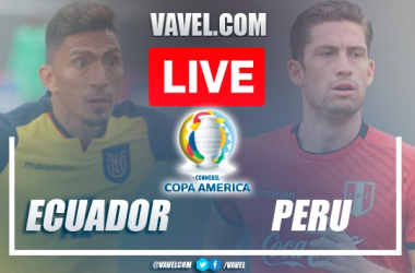 Goals and Highlights: Ecuador 2-2 Peru in Copa America 2021