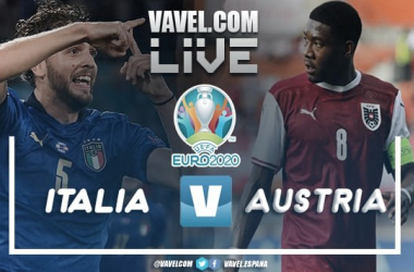 Resumen Italia vs Austria en la Eurocopa 2021 (2-1)