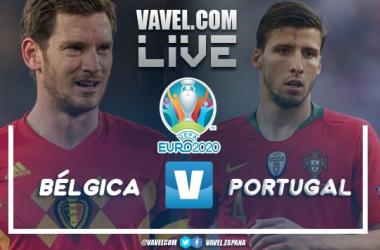 Resumen Bélgica vs Portugal por la Euro2020 (1-0)