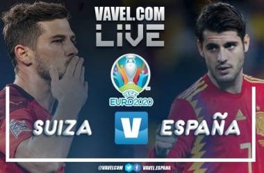 Resumen Suiza vs España en la Eurocopa 2020