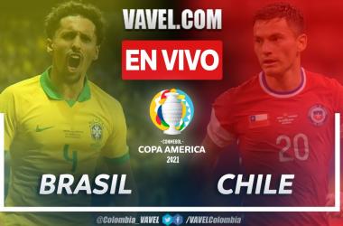 Resumen Brasil vs Chile (1-0) en los cuartos de final de la Copa América 2021