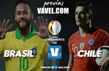 Previa Brasil vs Chile: David contra Goliat