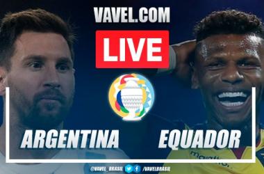 Gols e melhores momentos de Argentina 3 x 0 Equador pela Copa América