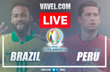 Highlights and goal: Brazil 1 - 0 Peru in 2021 Copa América semifinal match
