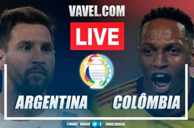 Gols e melhores momentos de Argentina x Colômbia (1-1, 3-2 nos pênaltis)