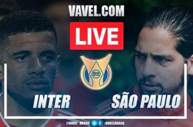 Gols e melhores momentos de Inter x São Paulo pelo Campeonato Brasileiro (0-2)