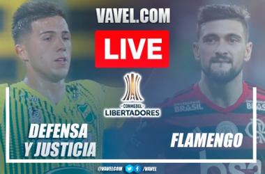 Goals and Highlights of Defensa y Justicia 0-1 Flamengo on Copa Libertadores 2021
