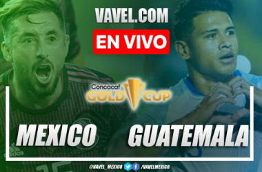 Resumen y goles:México 3-0 Guatemalaen Copa Oro 2021