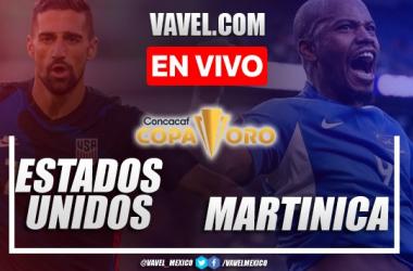 Resumen y goles:Estados Unidos 6-1 Martinicaen Copa Oro 2021